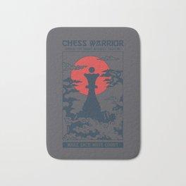 Temple Chess Warrior Queen Bath Mat