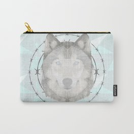 Triangular Wolf Carry-All Pouch