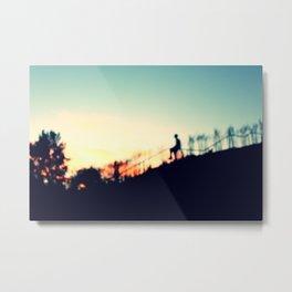 Summer Silhouette. Metal Print