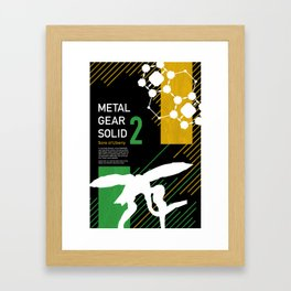 Metal Gear Solid 2: Sons of Liberty Framed Art Print