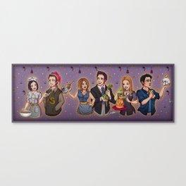 Friends TV Show - Monica Chandler Rachel Ross Phoebe Joey Canvas Print