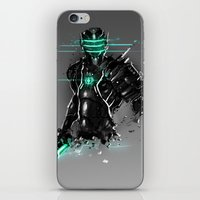 suit iPhone & iPod Skins featuring Omega Suit by Benedick Bana