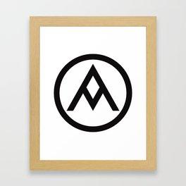 Soong Design Symbol Framed Art Print