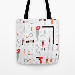 Tool Wall Tote Bag