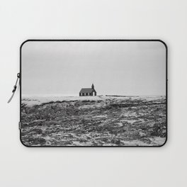 Black and White Photograph - Travel photography Laptop Sleeve