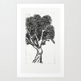 Tree Ink Print Art Print