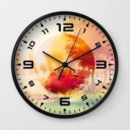 Autumn scenery #4 Wall Clock