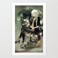 witch Art Prints featuring Witch by Lappisch