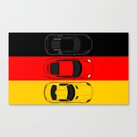 german Canvas Prints featuring German Horsepower by Blayde