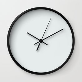 silver solid colour Wall Clock