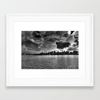 gotham Framed Art Prints featuring Gotham by Sonic Highlark