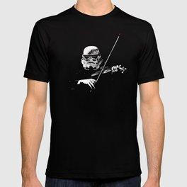 Dark Violinist Warrior T-shirt