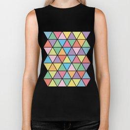 Summer Triangles Biker Tank