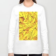 Yellow Leaves - Ver 1 (you can create set with Yellow Leaves Ver 2) Long Sleeve T-shirt