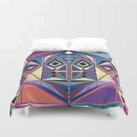 totem Duvet Covers featuring Totem by Naia Ceschin