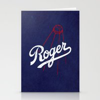 dodgers Stationery Cards featuring Roger That! by Robert Farkas
