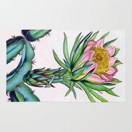 Blooming cactus Rug