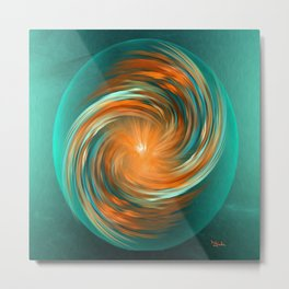 The energy of joy Metal Print