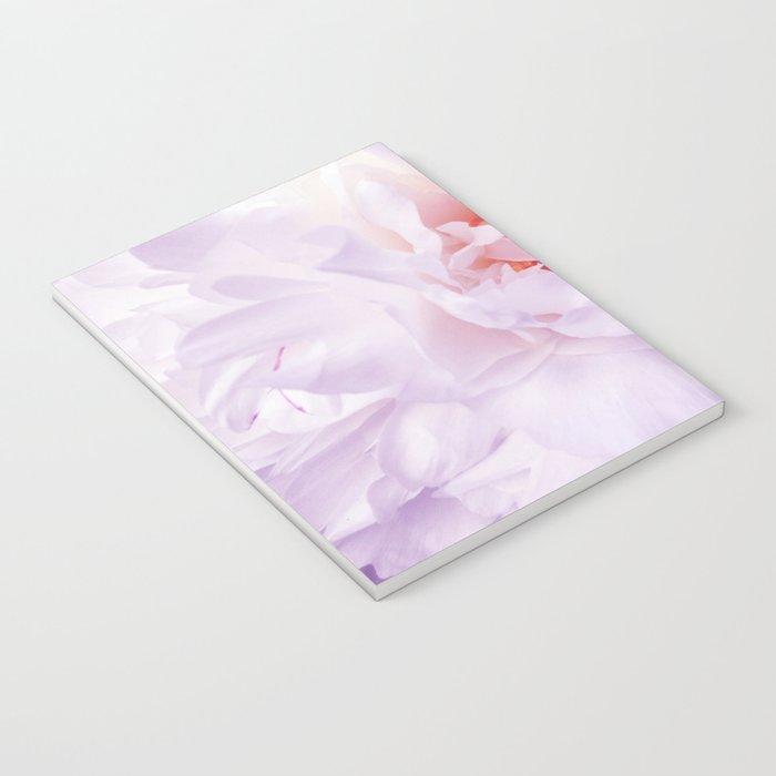 Purple Peony Notebook