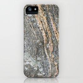 Metamorphic Rock Texture iPhone Case