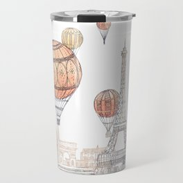 Voyages Over Paris ~ Refresh Travel Mug