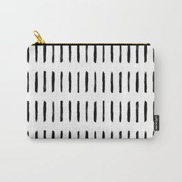 Modern Paint Stripes Carry-All Pouch