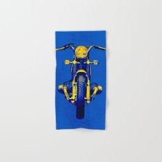 Pop Art BMW Motorcycle Hand & Bath Towel