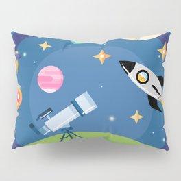 Explore Space Pillow Sham