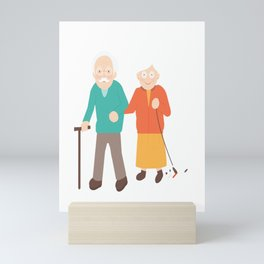 Happily Married For Ages Mini Art Print