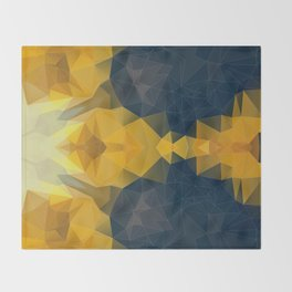 POLI LEMON OLI 2 Throw Blanket