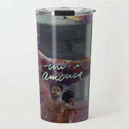 THISISAMERICA Travel Mug