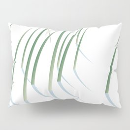 Reeds in Snow Pillow Sham