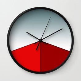 RED BOX Wall Clock