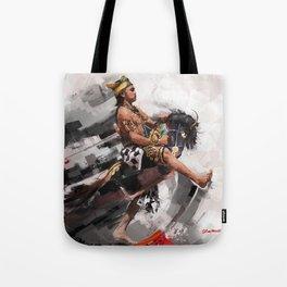 leathered horse (kuda lumping) Tote Bag