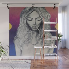 See (Kate Moss) Wall Mural