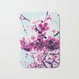 Pink Blossom Bath Mat