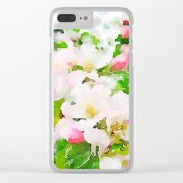 aprilshowers-115 Clear iPhone Case
