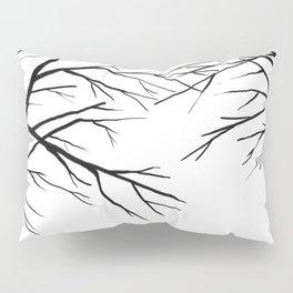 Winter branches Pillow Sham