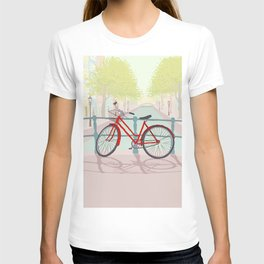 Amsterdam Canal Bike T-shirt