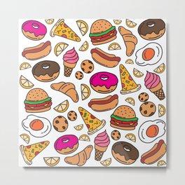 Foodie Metal Print