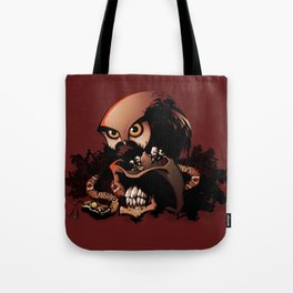 The Dead Cowboy, The Rattlesnake and The Owl Tote Bag