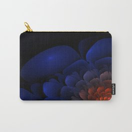 Purple Flower Flame Carry-All Pouch