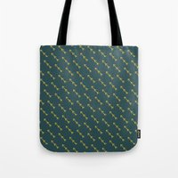 green arrow Tote Bags featuring Green Arrow by Birchwood by Ivoryfox
