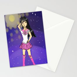 Seira as sailor scout Stationery Cards