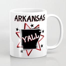 Arkansas State Y'all Coffee Mug