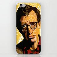 annie hall iPhone & iPod Skins featuring Woody Allen - Annie Hall I by FCRUZ