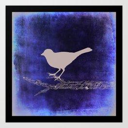 Magic Bird Art Print