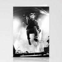 gorillaz Stationery Cards featuring Damon Albarn (Blur) - I by Tomás Correa Arce (RockMe TommyBoy)