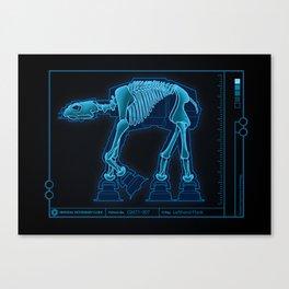 At-At Anatomy Canvas Print