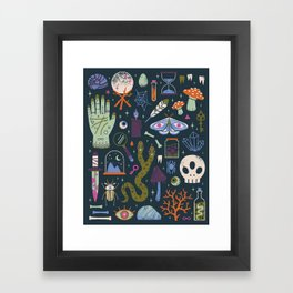 Curiosities Framed Art Print